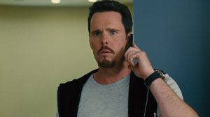 johnny drama looks worried during a phone call with chuck liddell