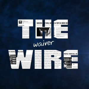 the waiver wire is a central aspect of the beginner's guide to a successful fantasy football season
