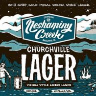 Neshaminy Creek Brewing Churchville Lager best craft beers in pennsylvania