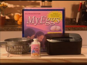 myeggs cinco products on adult swim