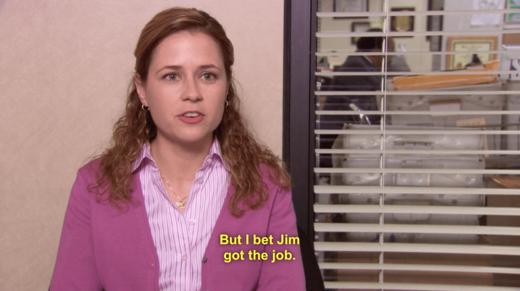 Pam Beesly is one of the worst characters on the show