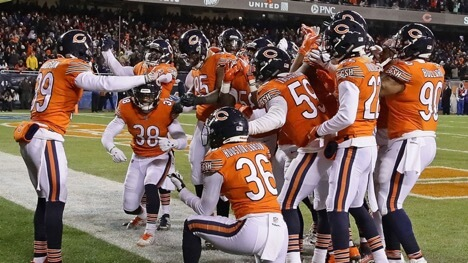 Chicago Bears D/ST and more Week 13 Sneaky Plays for your daily fantasy lineup