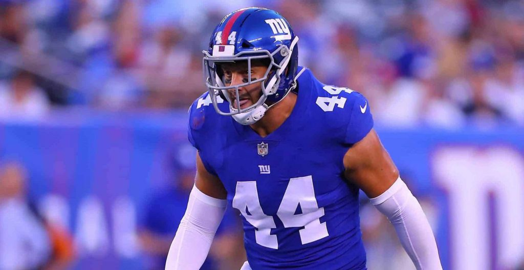 Mark Herzlich cancer New York Giants
