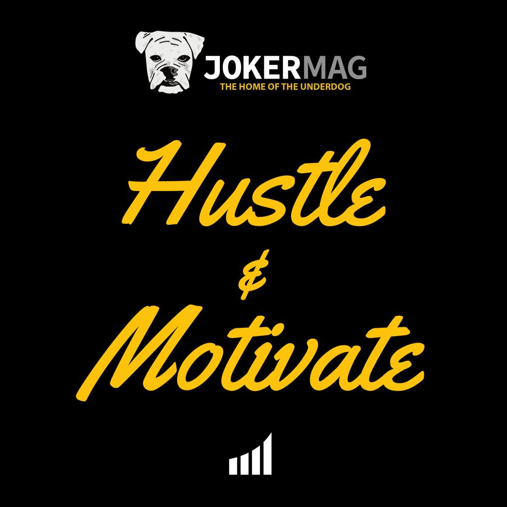 Hustle & Motivate podcast logo
