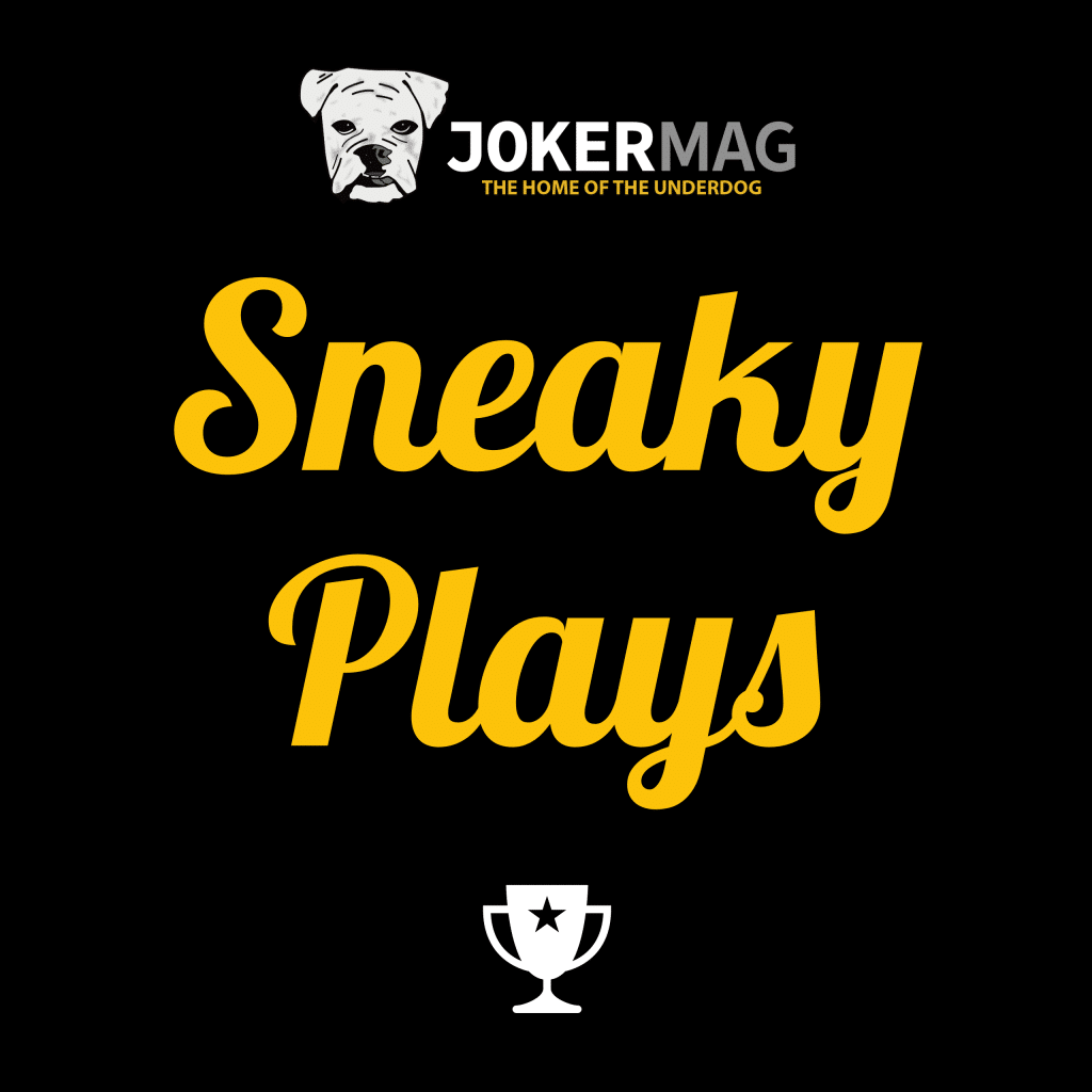 Sneaky Plays podcast logo