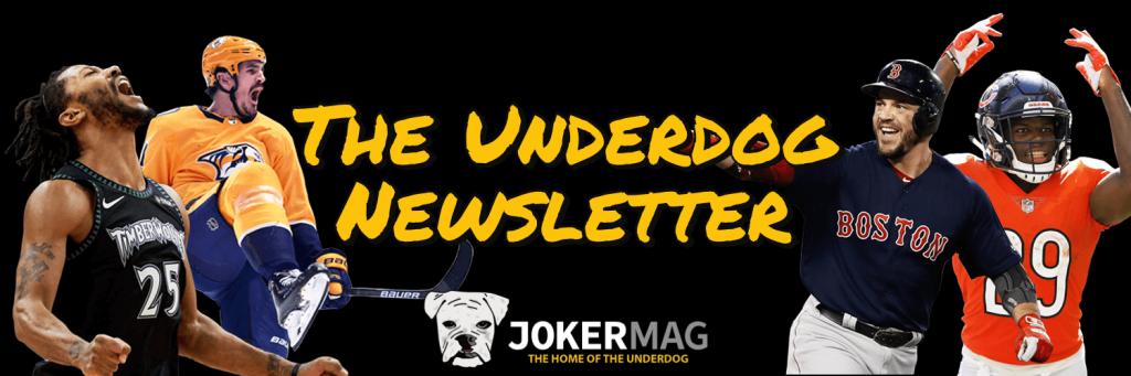 The Underdog Newsletter by Joker Mag