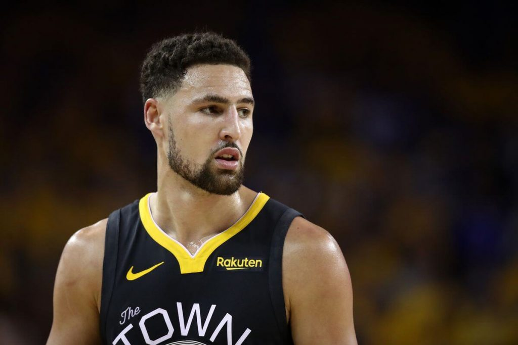 Klay Thompson tore his ACL before the 2019 NBA season.