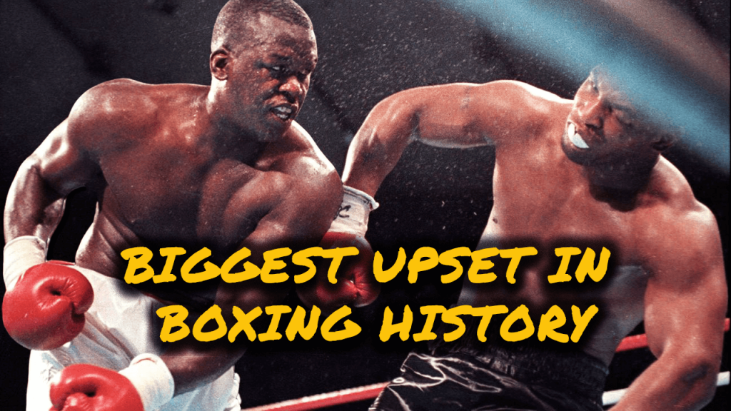 Buster Douglas knocks out Mike Tyson in the biggest upset in boxing history