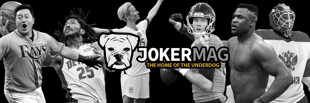 Ji-Man Choi, Derrick Rose, Megan Rapinoe and more underdog athletes covered by Joker Mag.