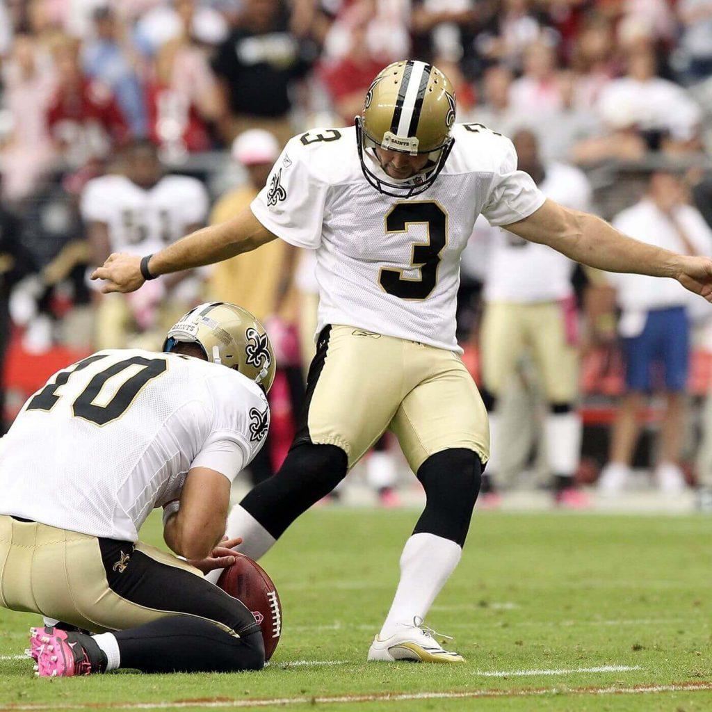 Saints kicker John Carney had one of the longest careers in NFL history
